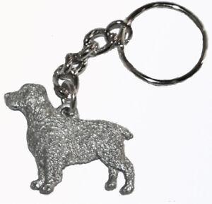 Springer Spaniel Dog Harris Fine Pewter Pendant USA Made