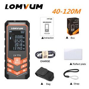 LOMVUM-Laser-Distance-Meter-Range-Finder-Electronic-Tape-Measure-USB-Charger-77U