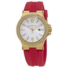 Michael Kors Mini Dylan Gold Tone Sunray Dial Ladies Watch MK2488