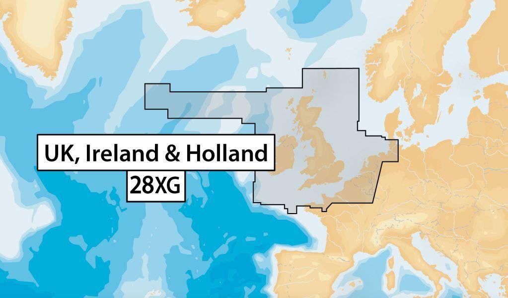 NAVIONICS+ - 28XG Update - UK, IRELAND & HOLLAND - NAVIONICS+ MSD ec624f