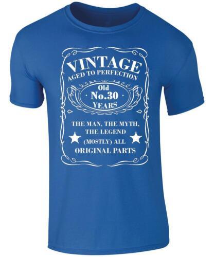 30th Anniversaire Present Vintage 30 Ans T-Shirt 30th Anniversaire T-Shirt
