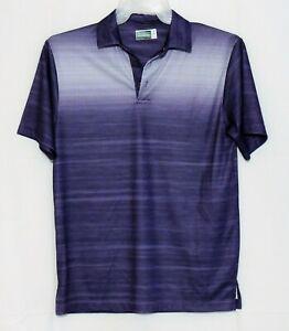 Ben-Hogan-Performance-Mens-Golf-Polo-Shirt-Size-Small-Purple