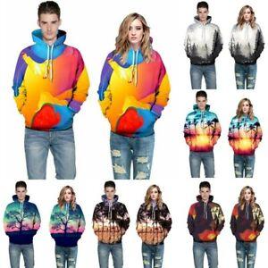 Tops-Womens-Hoodie-Graphic-Hooded-Jumper-3D-Print-Mens-Sweatshirt-Pullover