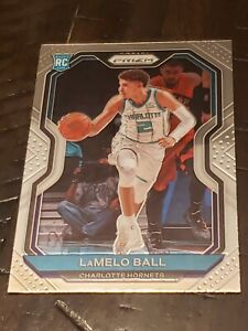 2020-21 Panini Prizm LAMELO BALL Base ROOKIE CARD No. 278 Charlotte Hornets RC