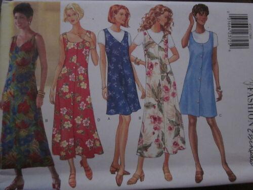 4531 Uncut Vintage Butterick SEWING Pattern Misses EZ Jumper /& Top 6-22 FF