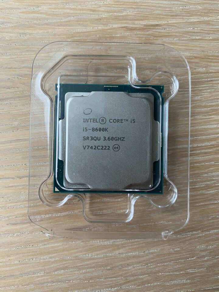 Processer, Intel, I5 8600K