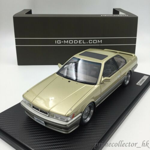 Ignition Models 118 Nissan Leopard 3.0 Ultima F31 Gold IG1012