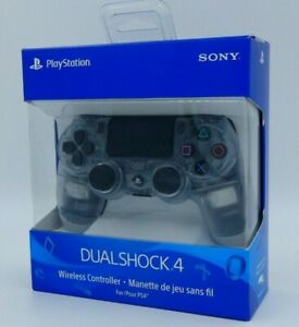 SONY-DualShock-4-Wireless-Controller-Crystal-Clear-Playstation-4-PS4-CUH-ZCT2U
