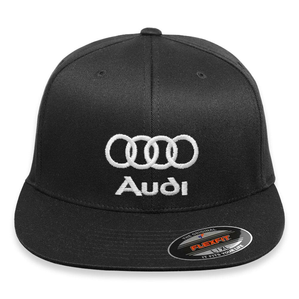 Details about Embroidery Audi Flex Fit Hat Audi-Logo-Cap-Sport-Quattro-TT -R8-A3-S3-A4-S4-A5- 3691603cbe5