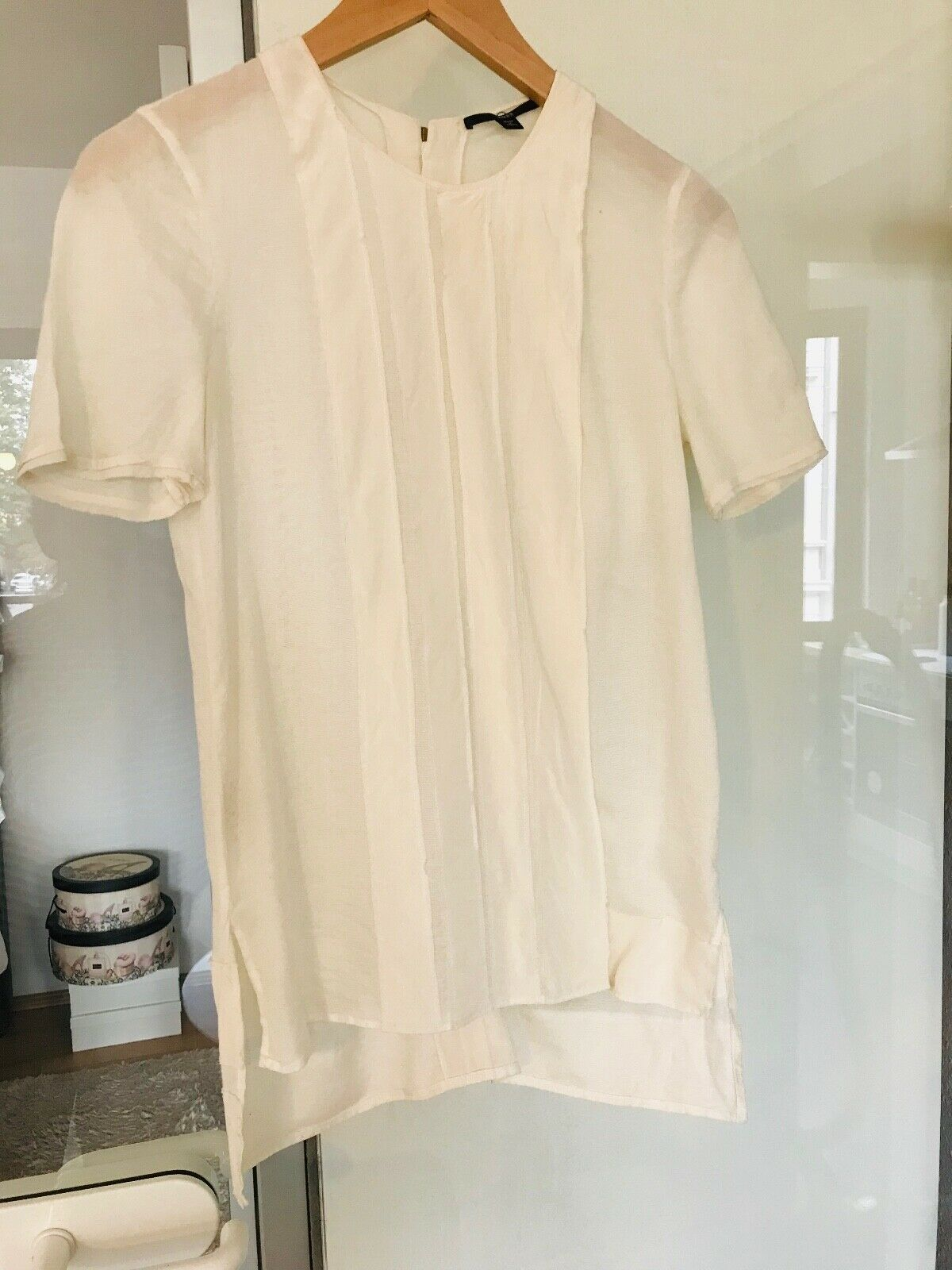 Boss T-Shirt Top  Blause weiß Gr. 36 Hugo Boss Neu mit Etikett