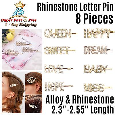 Gifts Hair Clips Women Girls Wedding Daily Rhinstone Alloy Hair Accessories SM