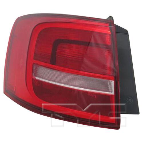 15-16 Volkswagen Jetta Sedan Halogen Quarter Driver Left Tail Light Lamp NSF