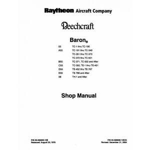 Beechcraft-Baron-55-A-B-C-D-E-55-58-Shop-Manual