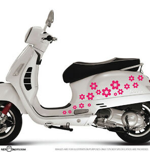 Sakura Flowers Scooter/Bike/Car/Window or Wall Vinyl ...