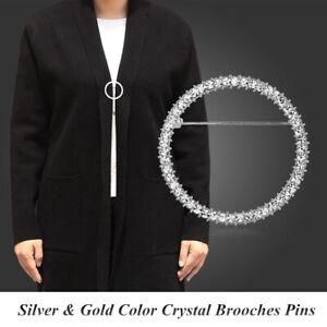 Accessoires de vêtements Butonier Cervical Round Broche de Rhin Broche Badge
