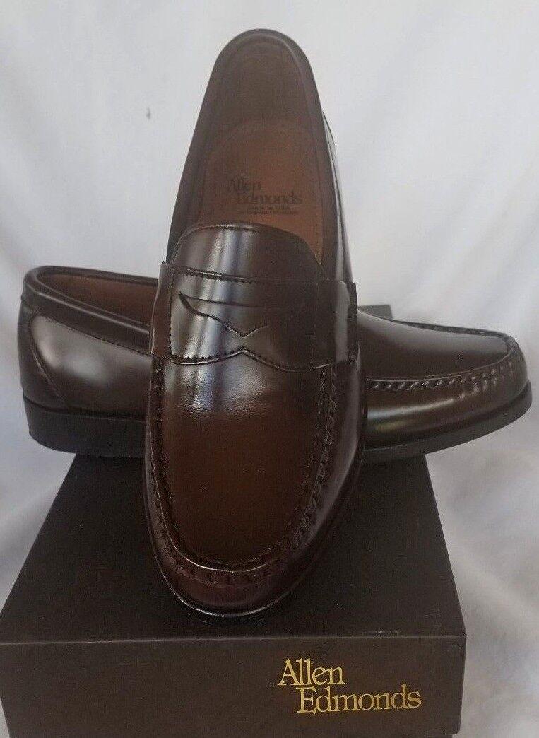 Zapatos de vestir Allen Edmonds Walden Borgoña Mocasín para hombre D