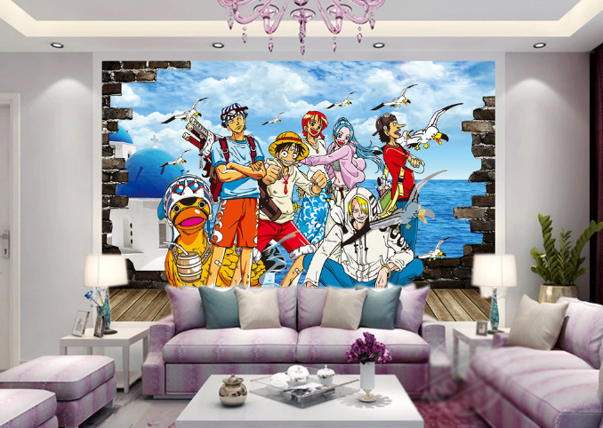 3D Pirate King Photo 7 Wall Paper Murals Wall Print Wall Wallpaper Mural AU Kyra