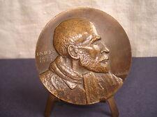 MÉDAILLE  Bronze  Dr ROUX 1853-1933  Signée Roché - French Medal