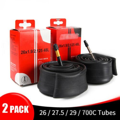 2PCS Kenda Bike Inner Tube For Mountain Road Bike Tyre Butyl Rubber~