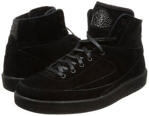 Details about Men's Air Jordan 2 Retro Decon Basketball Shoes, 897521 010 Sizes 8 13 BlackBla