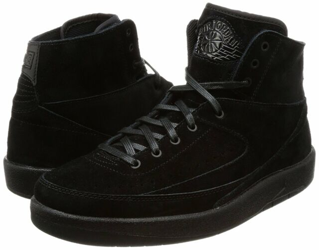 a807e221a9e4fb Nike Air Jordan 2 Retro Decon Men Size 10.5 Basketball Shoe Black ...