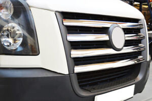 Acero inoxidable barras calandra cromo para VW Crafter I antes-Facelift   BJ 2006-2011