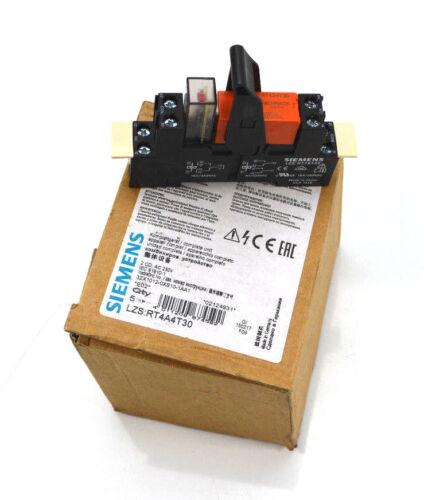 Siemens Steckrelais Komplettgerät 230 V LZS:RT4A4T30  Neu OVP VPE 4 Stück