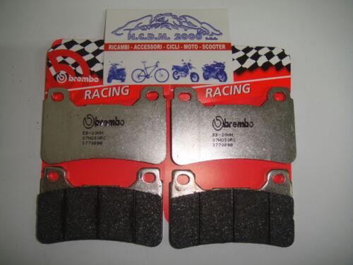 4 PASTIGLIE FRENO ANTERIORI BREMBO 07HO50RC RC RACING HONDA CBR600RR 600 2009