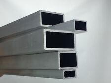 Aluminium Rechteckrohr AlMgSi05 Alu  Profil Hohlrohr Vierkantrohr