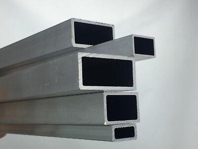 Hingebungsvoll Aluminium Rechteckrohr Almgsi05 Alu Profil Hohlrohr Vierkantrohr