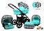 miniatura 2 - TRIO 3in1 OPTIMAL SET CARROZZINA +PASSEGGINO+SEGGIOLINO+ OVETTO BABY