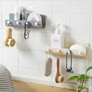 Mail-Letter-Key-Holder-Rack-Organizer-Wall-Mounted-Storage-Hanger-5-Hooks-L