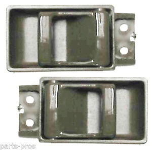 New Inside Door Handle Brown Pair For Nissan Pathfinder D21 Hardbody Ebay