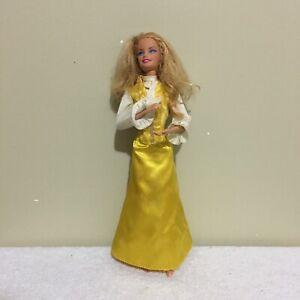 Barbie-Yellow-Dress-Mattel-2009-Doll-Figure
