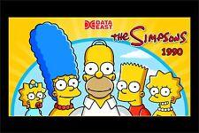 Data East The Simpsons Pinball Cabinet Light Mod GREEN