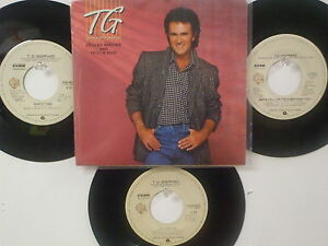 LOT OF 4 ' T.G. SHEPPARD ' HIT 45's+1PS           THE 80's!