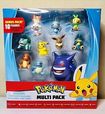New for 2020 New Pokemon Battle Figure Multi 8 Pack Toys Gotta Catch 'Em All