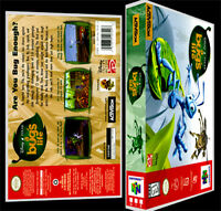 A Bugs Life - N64 Reproduction Art Case/box No Game.