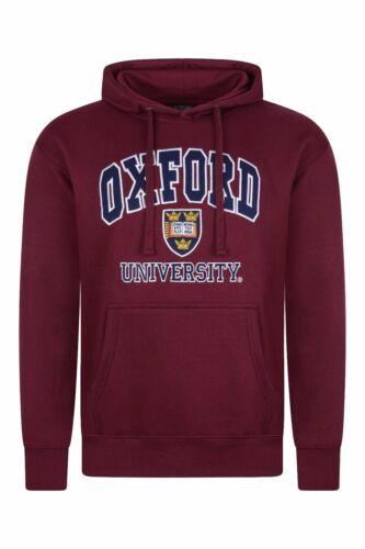 Oxford University ricamato accosta felpa con cappuccio-licenza ufficiale marca
