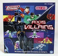 - Justice League Axis Of Villains Strategy Board Game - Batman Super Heroes