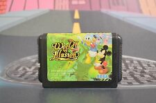 WORLD OF ILLUSION SEGA MEGADRIVE JAP JPN JP MEGA DRIVE