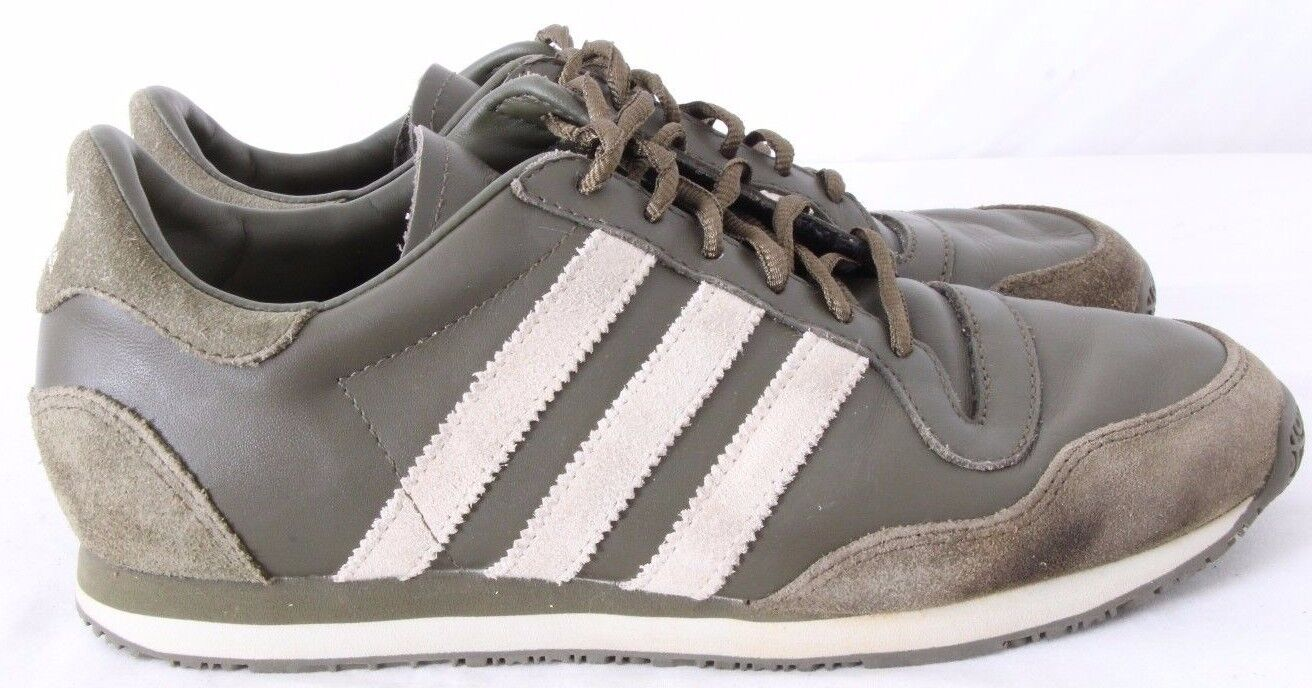 Adidas 779001 Running Athletic Training Green Suede Sneakers Women's US 7.5
