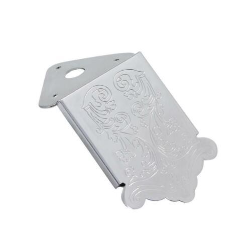 Durable Tailpiece Gravur Blumenmuster für Mandoline Ersatzteile