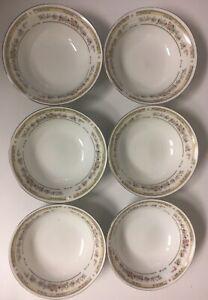 Kentfield-amp-Sawyer-Fine-Porcelain-Floral-Dessert-Bowls-Set-of-Six-Coupe-5-5-034-D