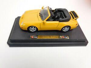 Burago-Porsche-911-carrera-en-amarillo