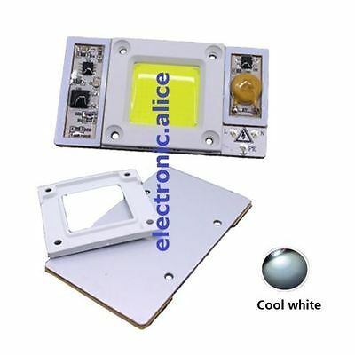 220VAC High Power 50W led chip built-in driver white 30000K-35000K LED