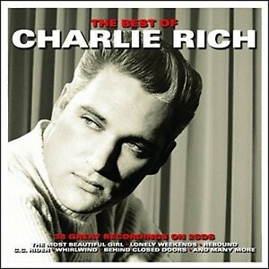 Best-Of-2-DISC-SET-Charlie-Rich-2015-CD-NEUF