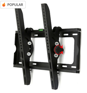TV Wall Mount For 32-55 Inch TVs, TV Bracket Tilted Wall Mount With Spirit Level