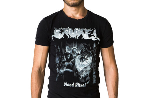 Samael Blood Ritual 1992 Album Cover T-Shirt