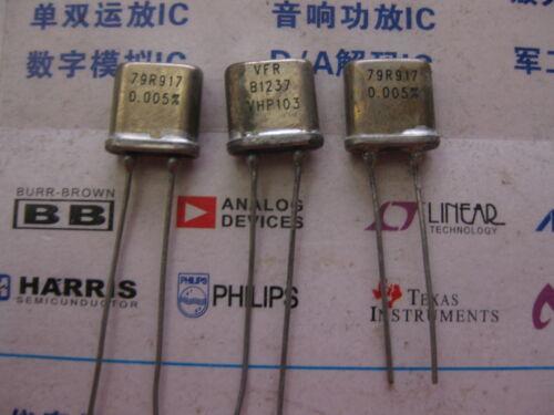 1X VHP103 79R917 0.005/% 0.3W RADIAL Metal Foil seal Resistors 79Ω917 OHM